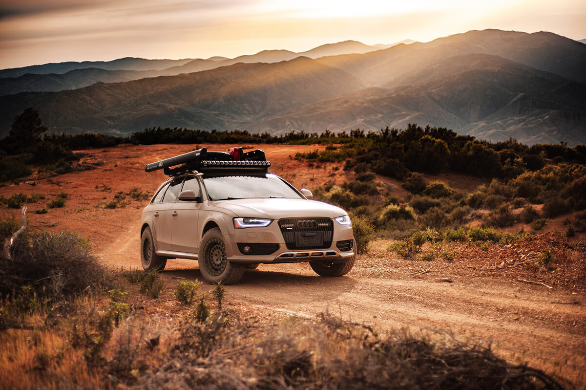 Lifted Audi A4 overland build