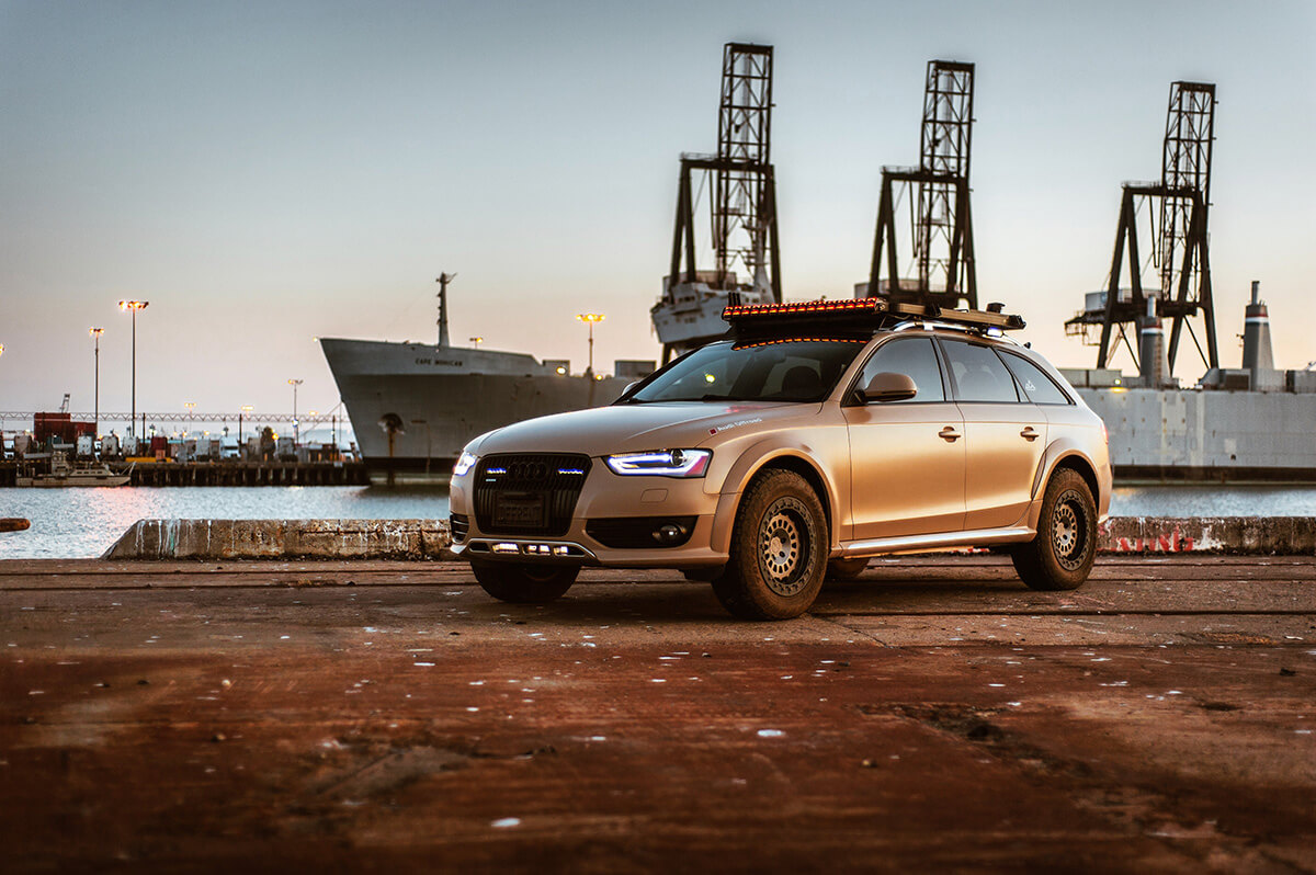 One Of a Kind Lifted Audi Allroad Overland Project