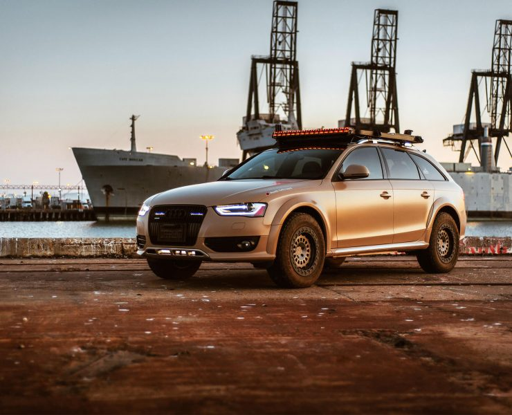 One Of a Kind Lifted Audi A4 B8 Allroad Overland Project