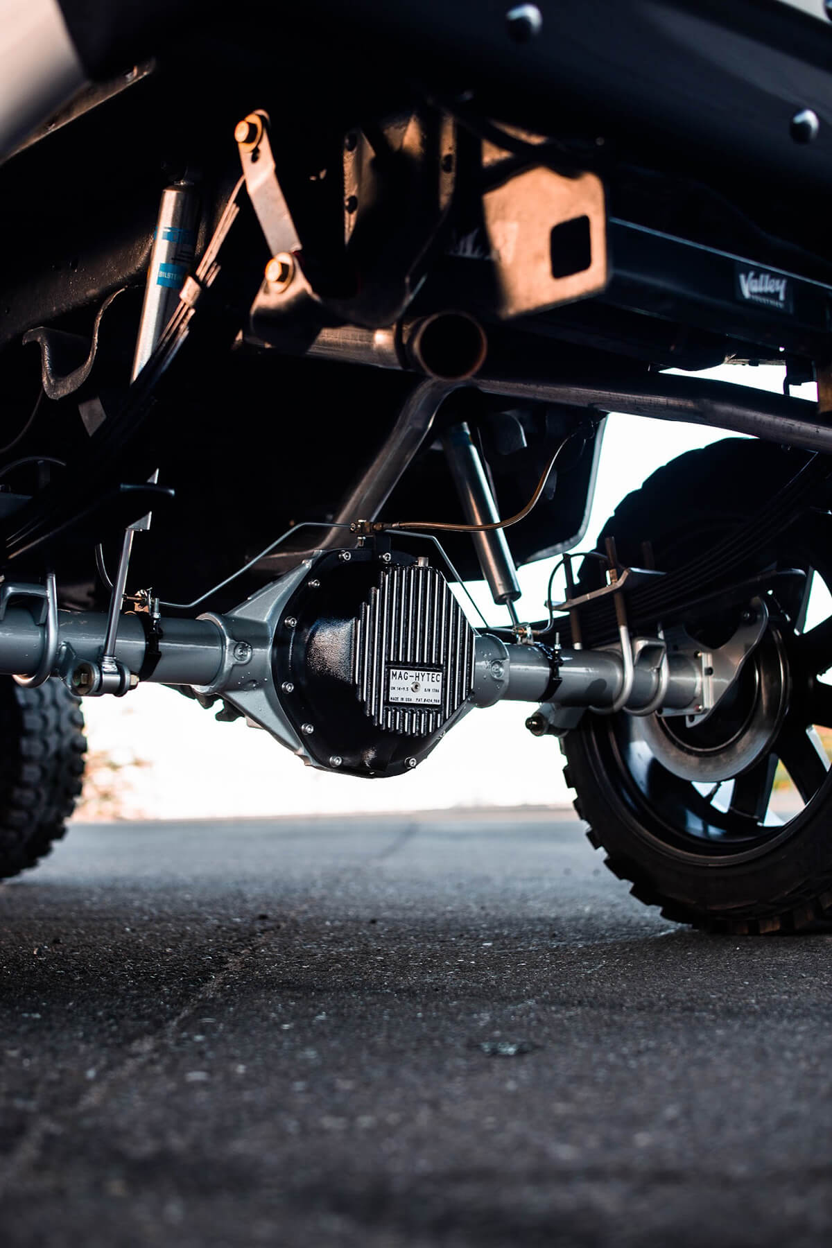 14 bolt swapped rear end - Chevy C/K V10 truck