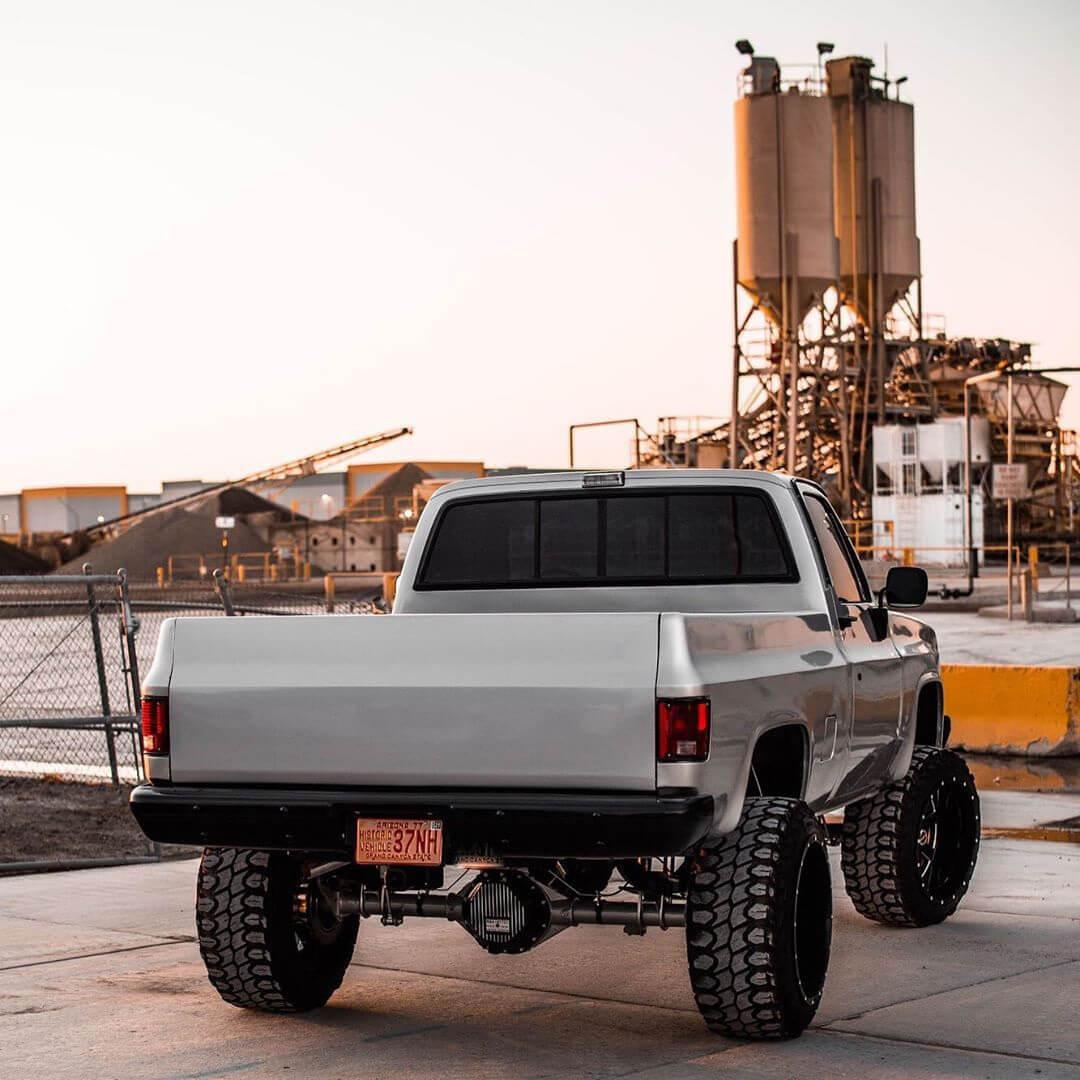 restored squarebody chevy truck