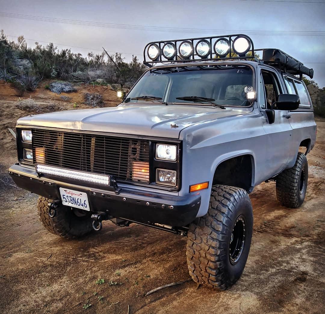 Lifted Squarebody Chevy K5 Blazer