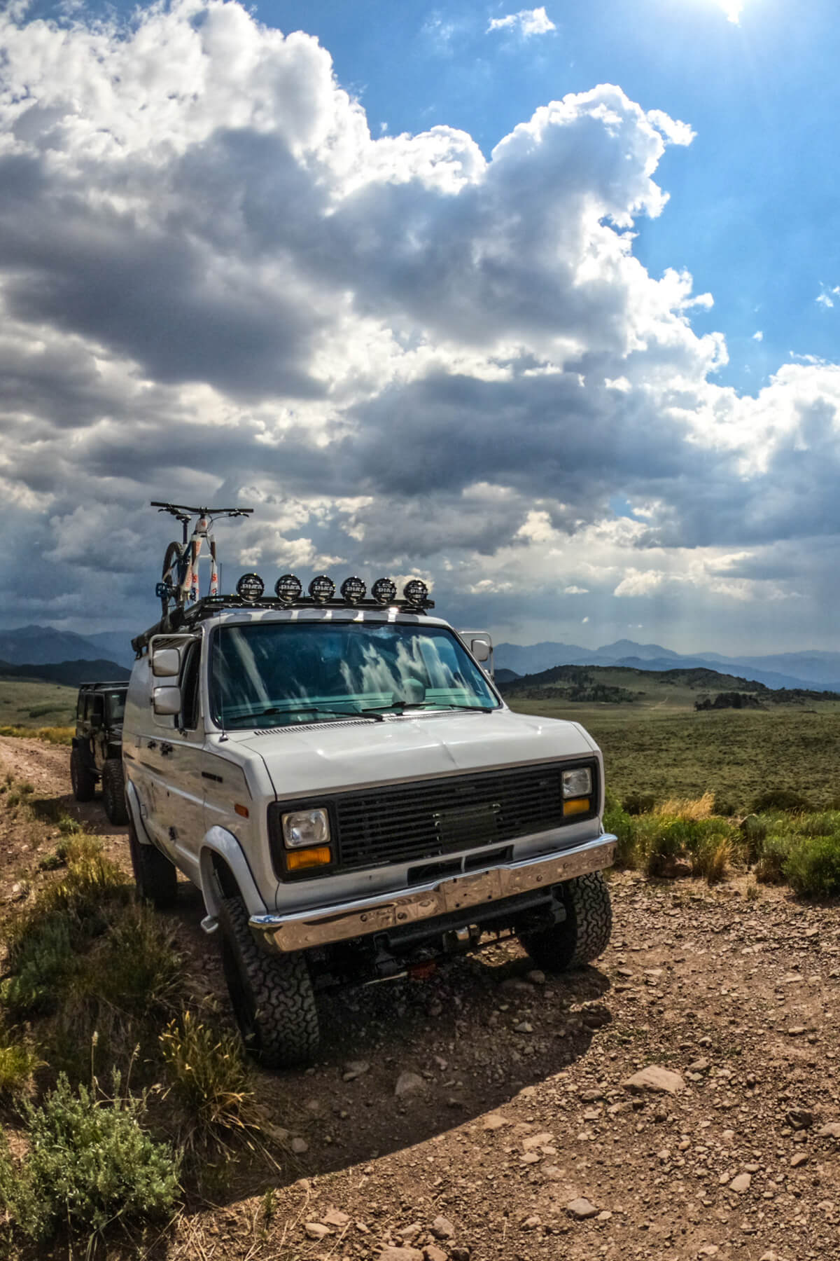 Ford E150 Off-road lights