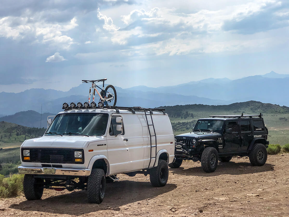 1990 Ford E150 Van with 4wd Conversion from Red Bluff 4×4