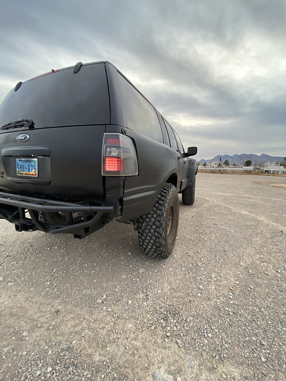Lifted Lifted Ford Expedition Custom LED Taillights