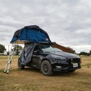Tepui Ayer 2 Roff top tent on a ford focus hatchback