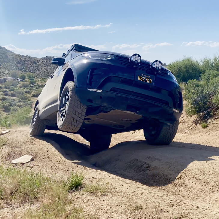Lifted Land Rover Discovery TD6 2017 With 2 inch lift