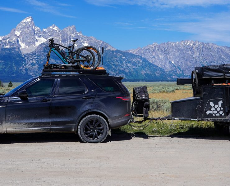 2017 Land Rover Discovery TD6 Overland Build