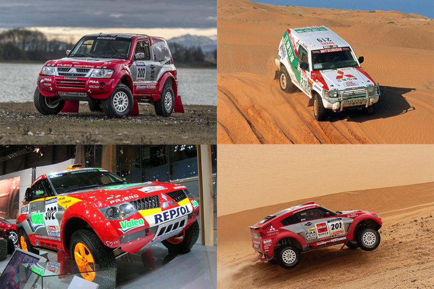 Mitsubishi Pajero Dakar race Evolution