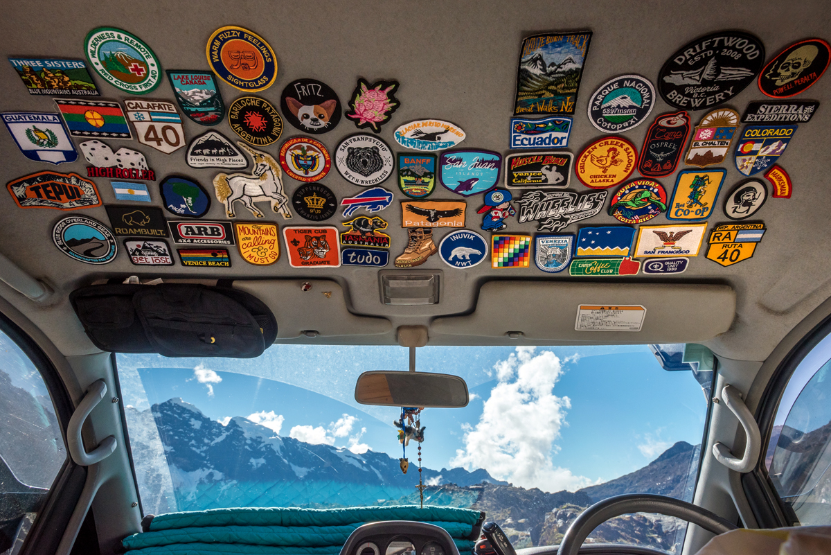 Camper Overland patches