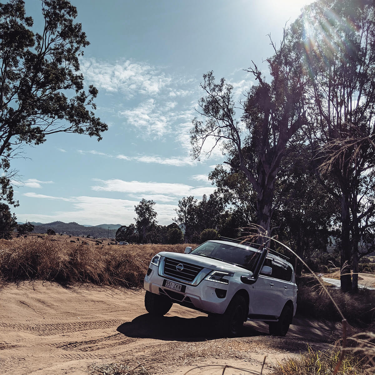 Nissan Patrol Y62 Infiniti QX80 Off-roading and Overland Adventures