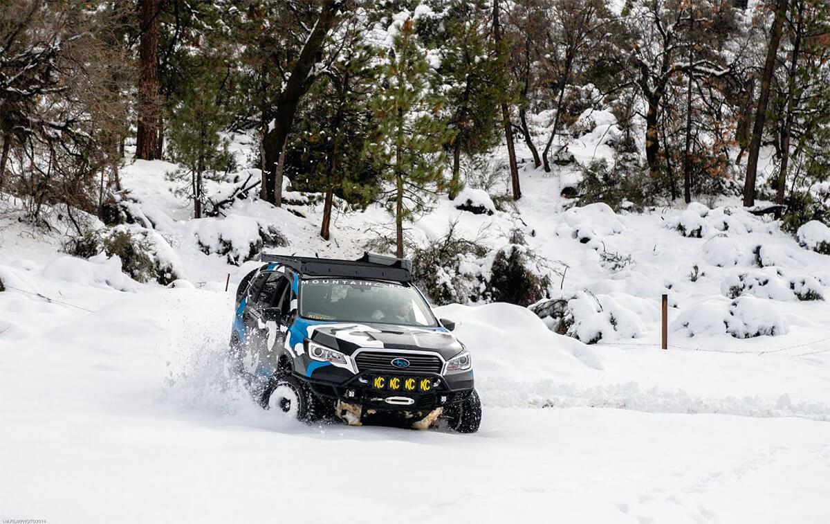 Subaru Ascent Off roading