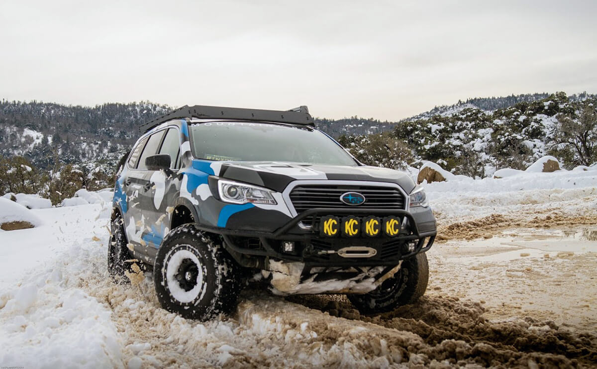 Subaru Ascent Offroad overland build