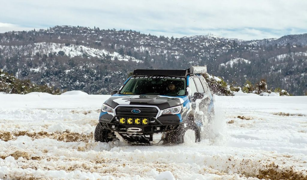 The First Lifted Subaru Ascent Off-road Build in the World