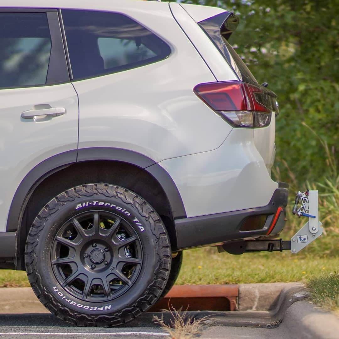 heels are 17X7.5 Motegi Racing MR139s with 245/65R-17 BFG All-Terrain T/A KO2's