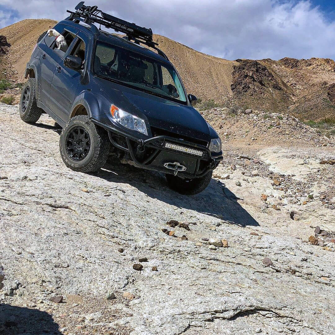 Subaru Forester overland off-road project