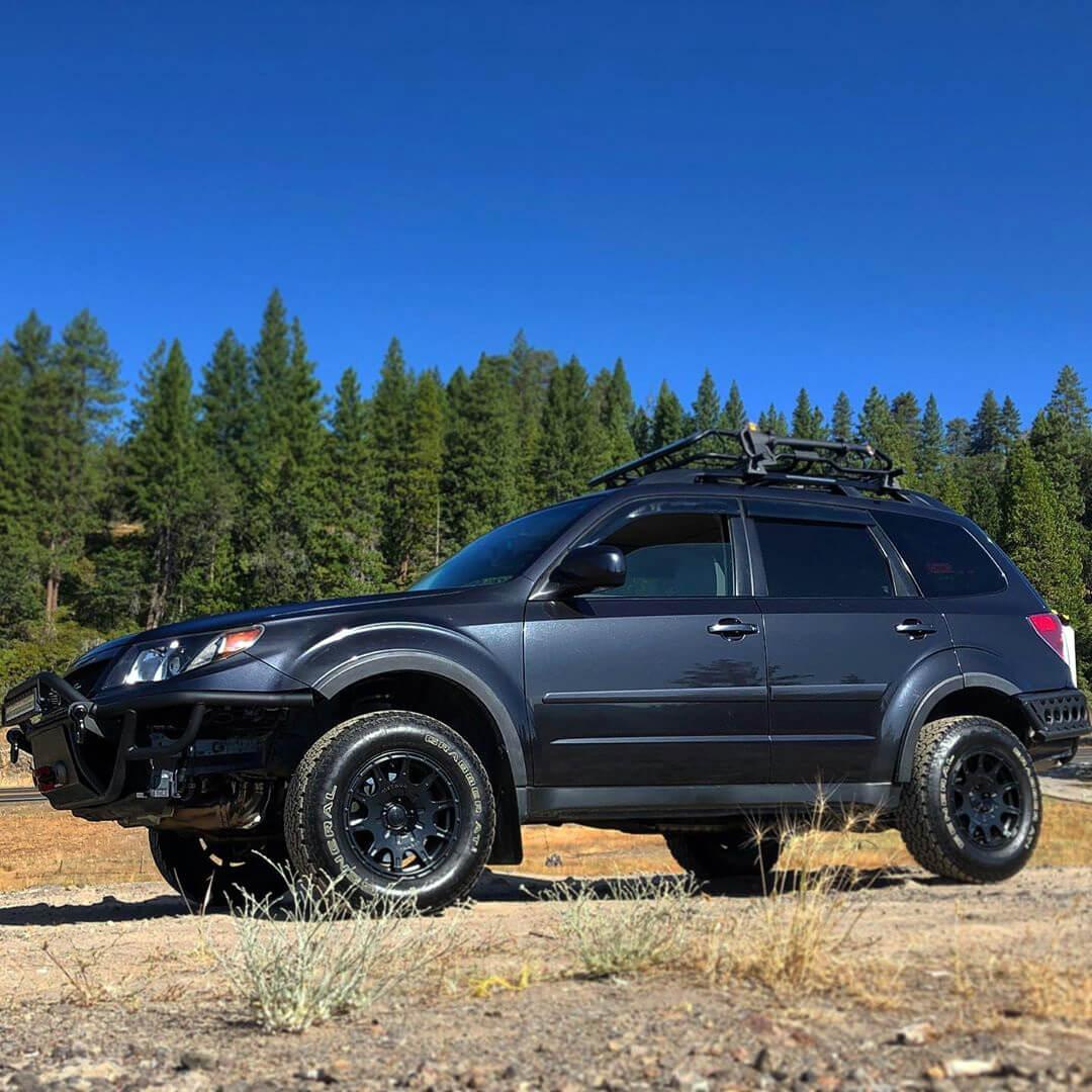 2009 Subaru Forester Overland adventure build
