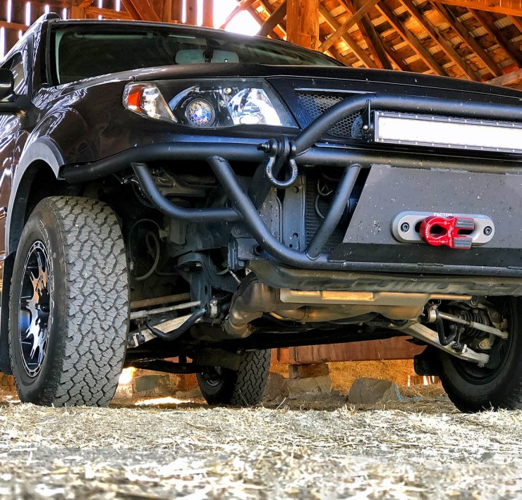 Staying Off The Paved Roads in A Modified 3rd Gen Subaru Forester