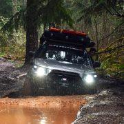 Subaru Forester XS offroading