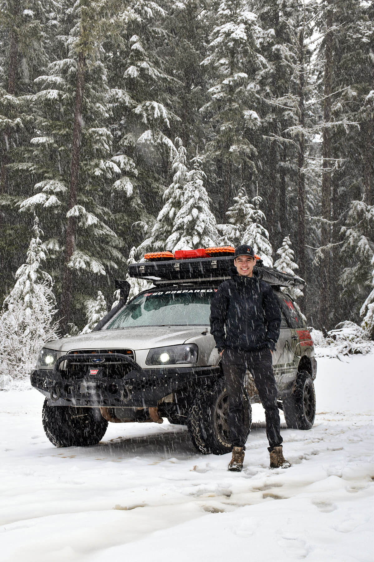 Modified Subaru Forester