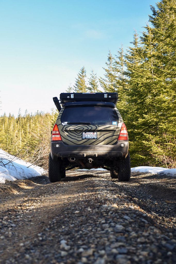 lifted subaru forester 2nd generation