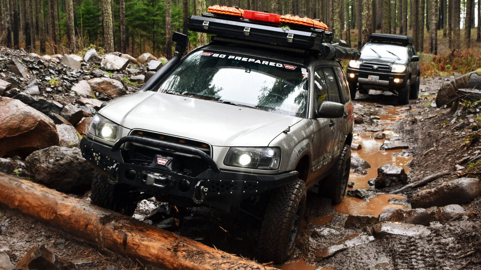 2005 Lifted Subaru Forester Off Road and Overland modifications