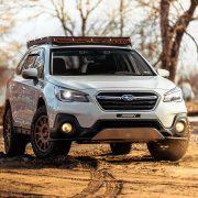 "Subaru Outback 2"" lift kit by LP Aventure"
