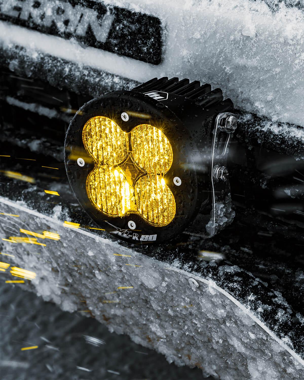 independent Baja Designs XL-R 80 amber wide/cornering fog lights (9500lm 80W each)