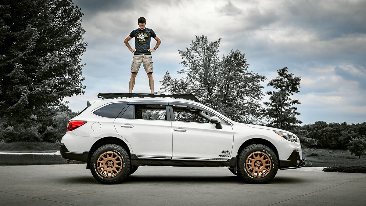 Lifted 2019 Subaru Outback With Overland Style Mods Upgrades