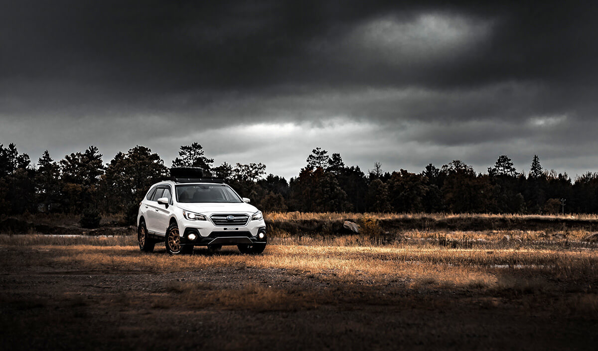 New Subaru Outback Overland Off-road Project