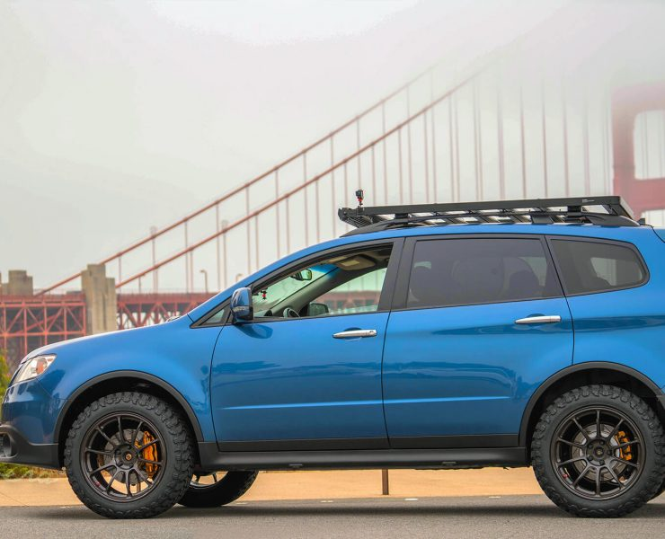 Lifted Subaru Tribeca with an Off-road Attitude