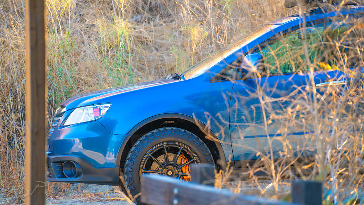 Subaru tribeca big tires brembo brakes