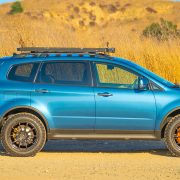 Subaru tribeca overland off-road build