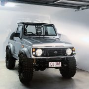 Lifted 1997 Suzuki Sierra SJ80 / Samurai with offroad modifications