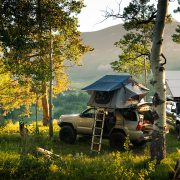 2004 4Runner Tepui Roof top tent and solar panels