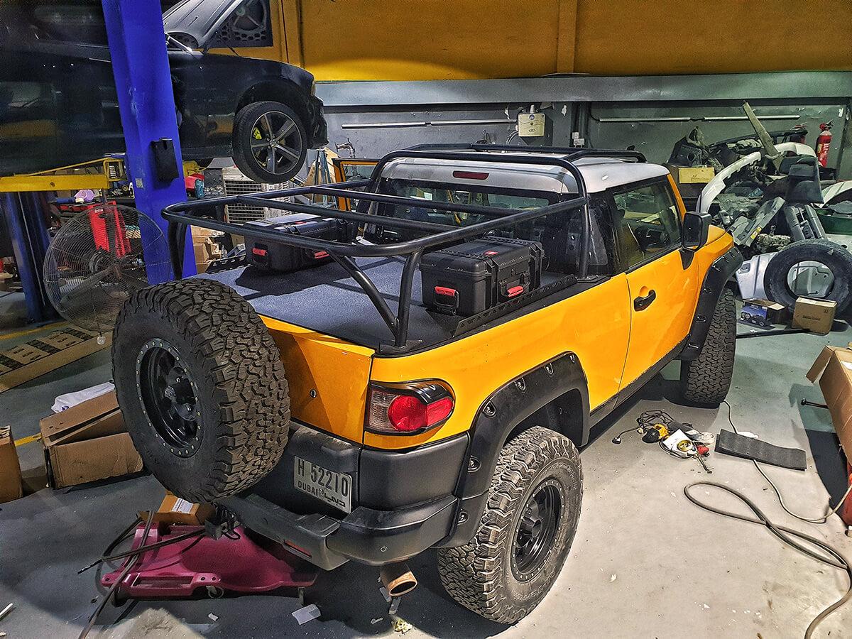 Toyota FJ Cruiser off-road project build