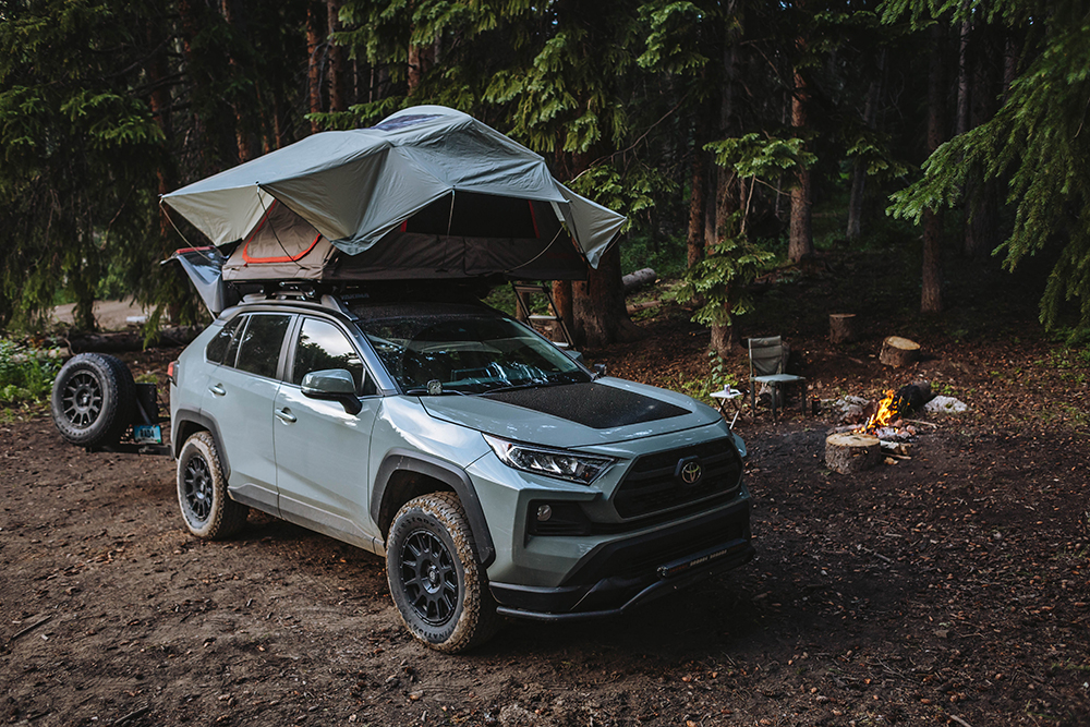 Caming in a new 5th gen 2019 Toyota Rav4