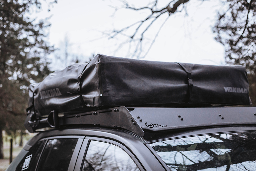 Yakima SlimShady Awning on a Toyota Rav4