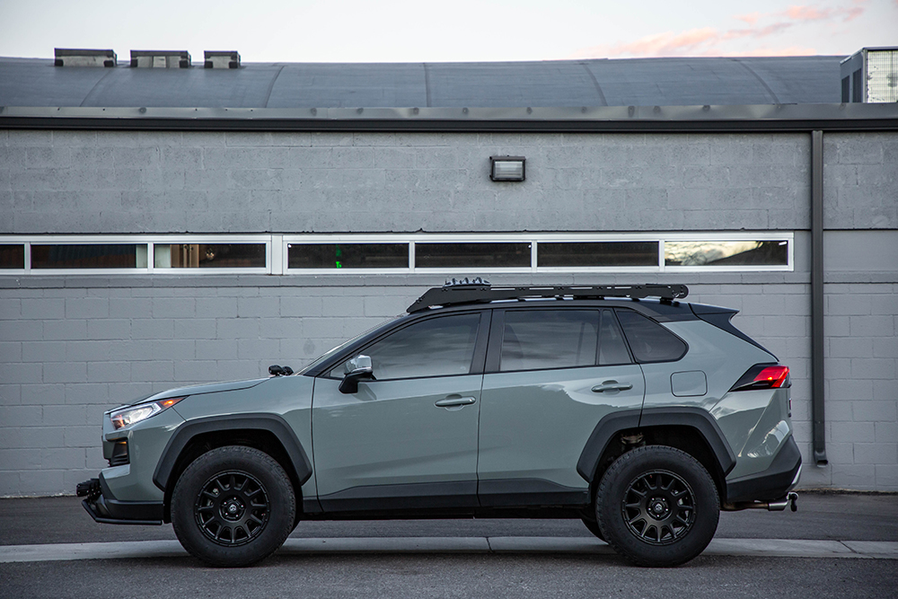 "Toyota Rav4 with 2"" inch lift kit front & rear from LP Aventure"