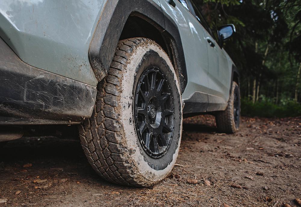 Toyota Rav4 LP Aventure LP1 Satin Black Wheels Rims - 17x7.5 R17