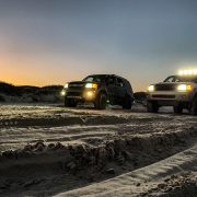 Toyota Sequoia Round Off-road driving lights