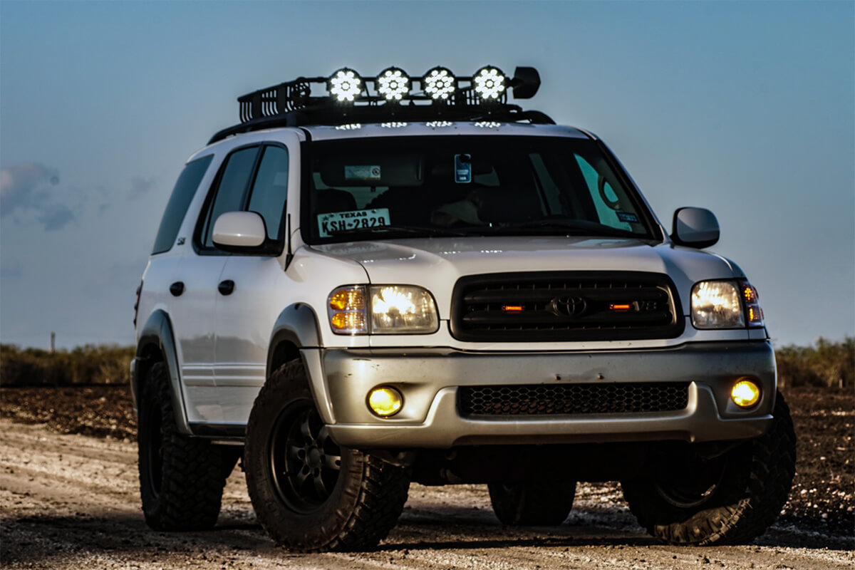 2003 Toyota Sequoia With offroad mods and Bilstein 5100 shocks
