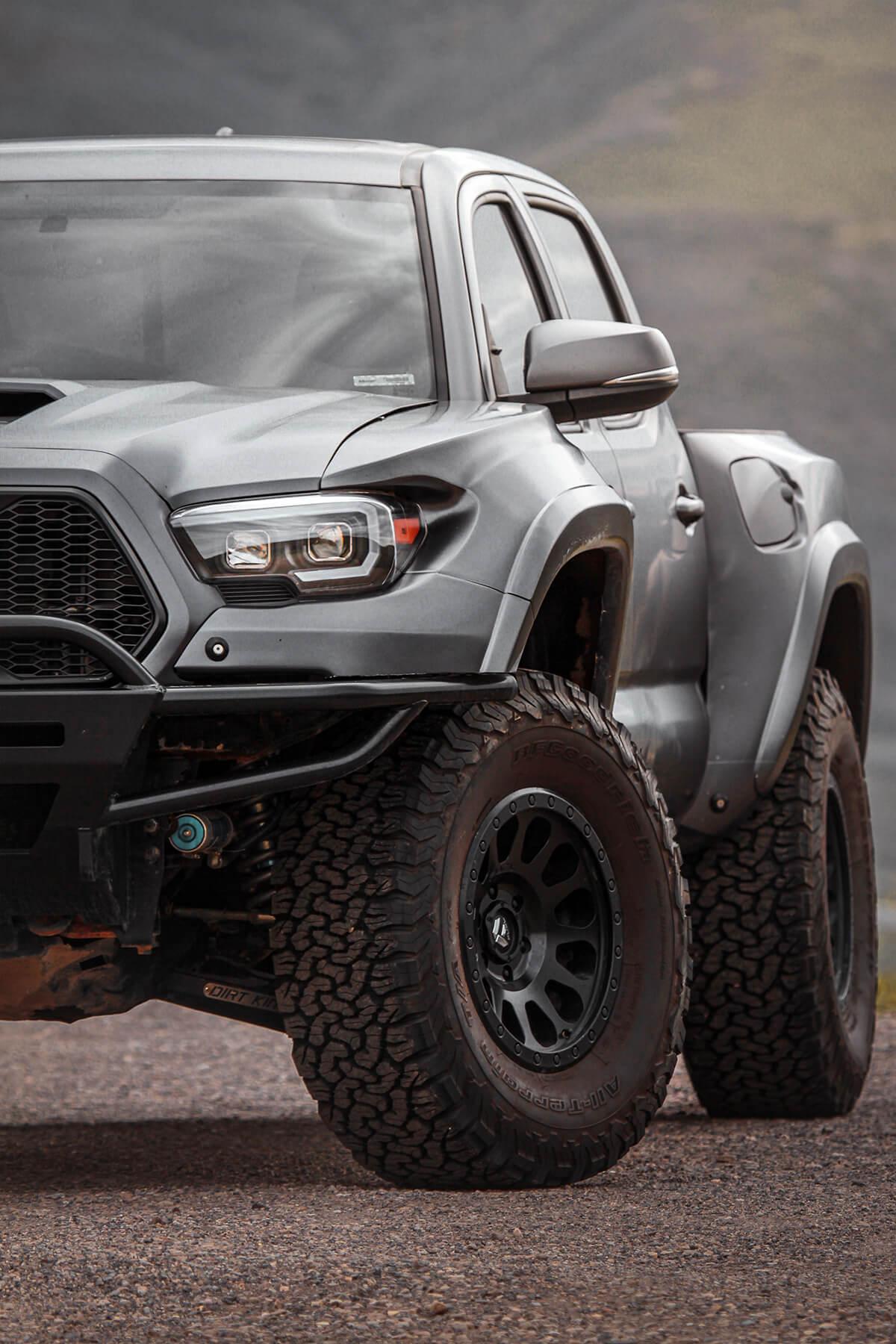 Long Travel Toyota Tacoma Prerunner DIY build