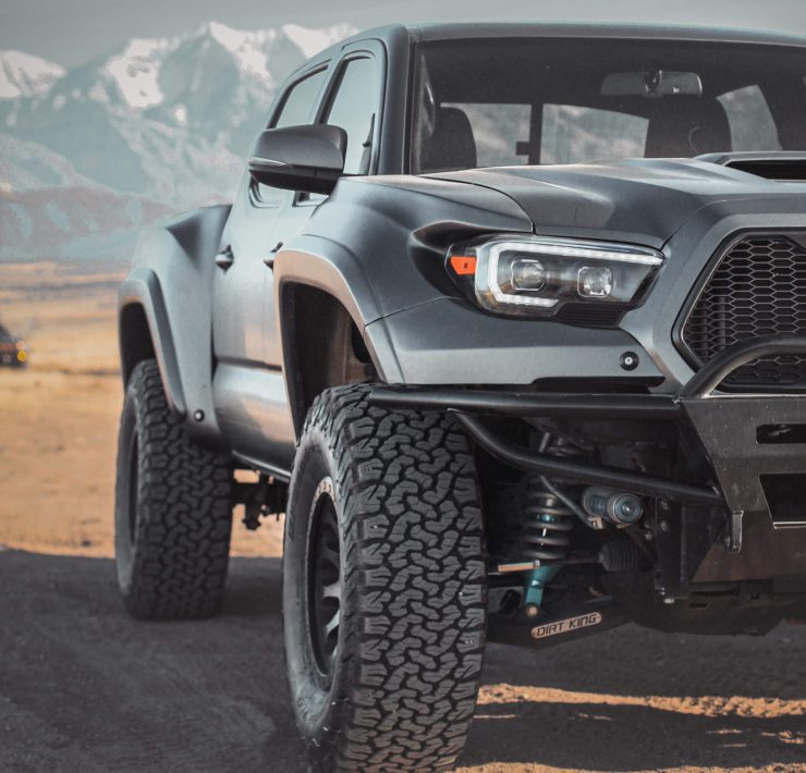 Tacoma Long travel Ki by DirtKing fabrication